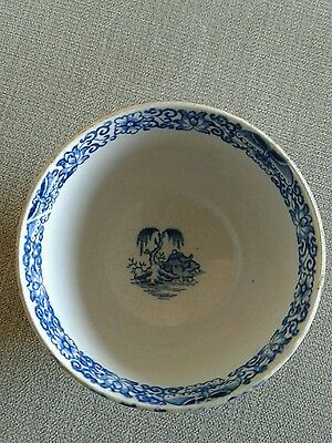 18th century worcester tea cup and bowl