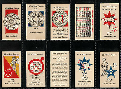 "Millhoff 1934 Interesting 1934 ( Fortune ) Full 50 Card Set "" What The Stars Say"