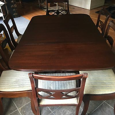 Duncan Phyfe Complete Dining Room Set with Storage/Serving Chest