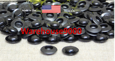 100  Auto Plastic Undercoat Rustproof Plug Caps Buttons Fluid Film Rust Plug USA