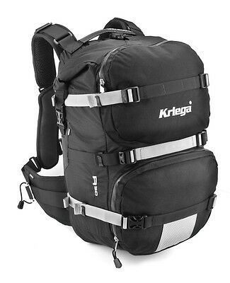 Kriega R30 Backpack Waterproof 30 Litre Motorcycle Motorbike Rucksack