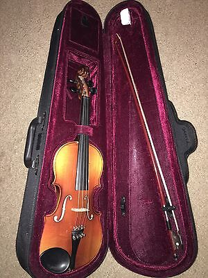 Bausch Violin With Case & Bow NICE!!!! BACK TO SCHOOL!!!