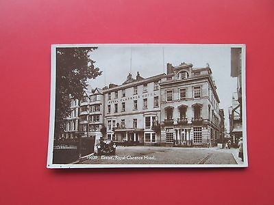 Exeter (Devon):  R/P Postcard of Royal Clarence Hotel  (1930s)