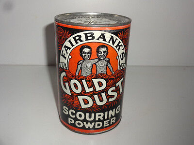 Fairbank's Gold Dust Scouring Powder Can Full Mint