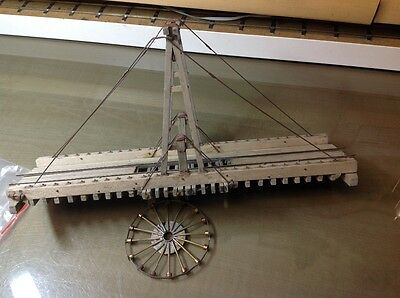 0n30 model railroad gallows turntable bridge and spider
