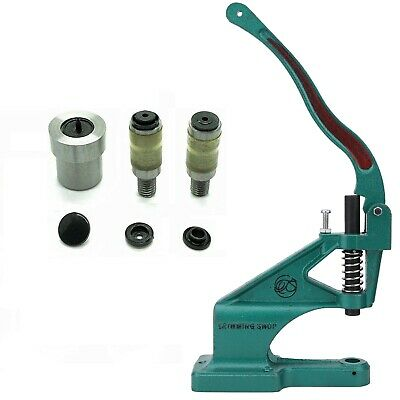 Universal Green Machine Rivet Press KAM Snaps Size 16 20  Press Stud Die Tool