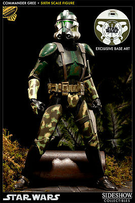 Sideshow Commander Gree Sixth Scale Figure Militaries of Star Wars Exclusive