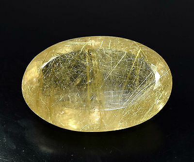 Museum Size 311.27 Cts. Certified 100 % Natural Golden Rutile / Sagenetic Quartz