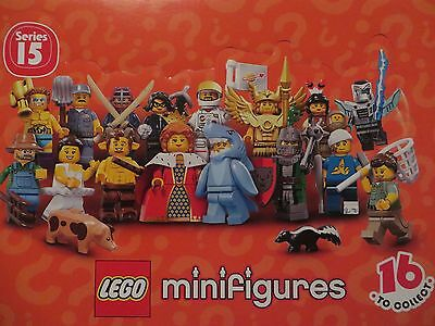 Lego minifigures from series 15 – COMPLETE SET of 16 figures