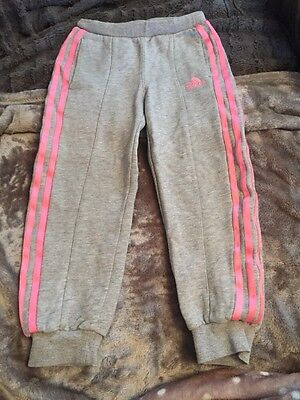 Girls 4-5years Adidas Tracksuit Bottoms