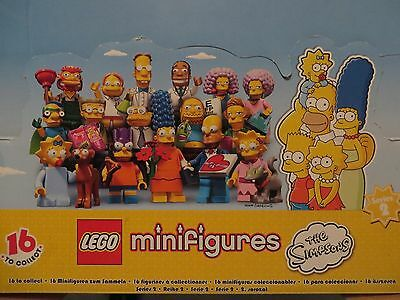 Lego Simpsons minifigure from series 2 -  Edna Krabappel