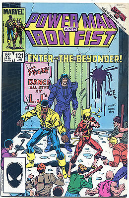 Luke Cage Power Man And Iron Fist 121 Secret Wars Ii Heroes For Hire Christopher