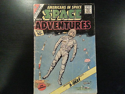 Charleton AMERICANS IN SPACE December 1961 #43 - 10 cent Comic Alan Shepard
