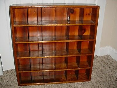 Antique Key/mail Cabinet - Great For Small Collectibles