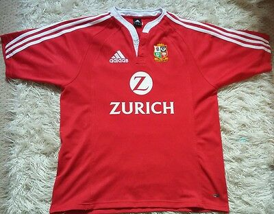 2005 British Lions Large Rugby Union Jersey Shirt