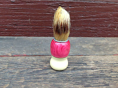Unmarked Shaving Brush Pink Handle