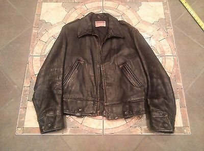 Vintage  Californian leather motorcycle jacket sz 42