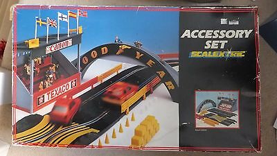 scalextric Accessory Set track Old Collectible