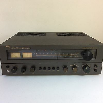 Vintage 1979 Audiophile NAD 7030 Stereo Receiver AM/FM Tuner - Phono Stage