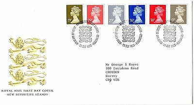 1993 England New Definitive Stamps  Fdc From Collection C18