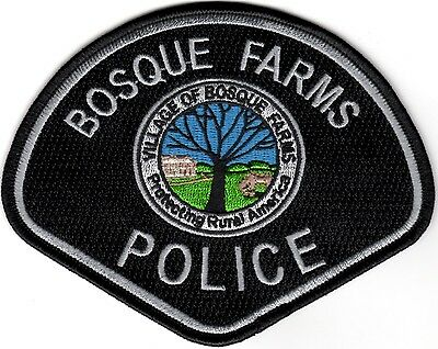 Bosque Farms Police New Mexico patch NEW