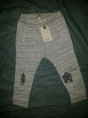 ZARA NEW BOYS 3-4 LEGGINGS TROUSERS house-tree grey