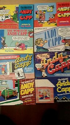 Collection of ANDY CAPP books.