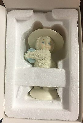 Vintage 2003 Dept 56 Snowbunnies Bonnets & Bows Retired New In Box  #06844
