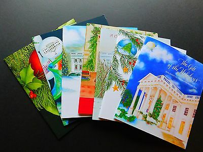 OBAMA Christmas 2010 to 2016 HOLIDAYS @ the White House booklets COMPLETE SET 7