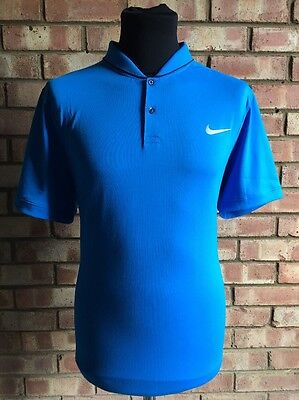 Nike Golf Modern Fit Transition Dry Polo Photo Blue 725555 UK XLarge Clearance