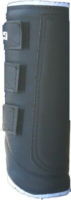 protuff fleece lined brushing boots pair large/full