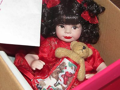 Baby Annette Holiday Tiny Tot Coa Signed & Numbered