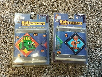 Bob the Builder Border Stick - ups wall border new in package x2 packs