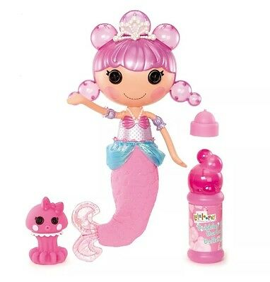 BRAND NEW Lalaloopsy Bubbly Ocean Seabreeze Mermaid Doll FREE SAME DAY SHIPPING