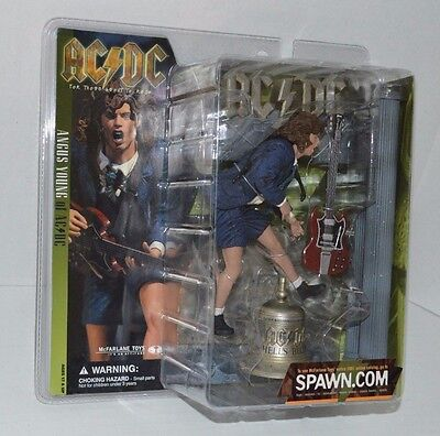 AC/DC - 2001 McFarlane ANGUS YOUNG - HELLS BELLS Live onstage NEW AC/DC Figure