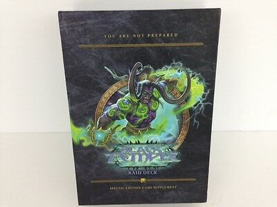 BLACK TEMPLE: Raid Deck WORLD OF WARCRAFT trading card game, WoW Special Edition