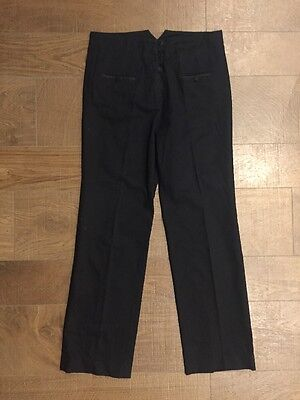 French Connection Black Tailored Suit Trousers Size 16