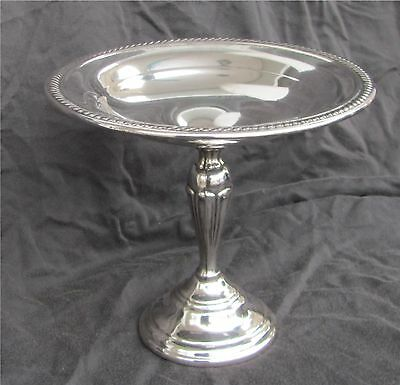 F.B. Rogers Silver Plate Pedestal Candy Dish