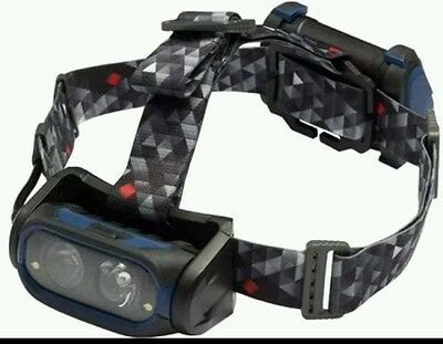 Nightsearcher NSHT550R  Usb Rechargeable Head Torch Reactive SEA / CARP FISHING