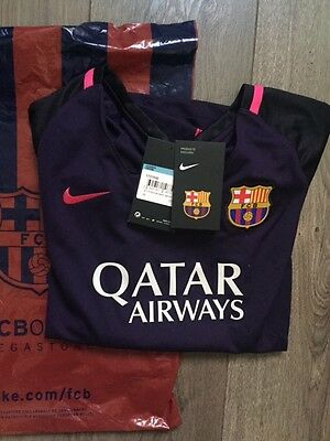 Maillot foot Nike Barca Femme Messi taille M