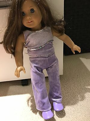 American Girl Doll Gymnastics Outfit Set