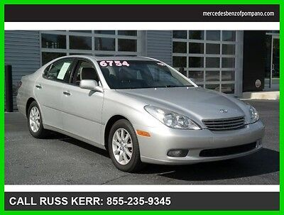 2002 Lexus ES Premium Heated Seats one Owner Clean Carfax 2002 ES 300 Premium We Finance and assist with Shipping