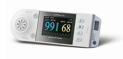 """Bionet Oxy9Wave Vet Veterinary Pulse Oximeter 3.2"""" LCD Color Display NEW IN BOX"""