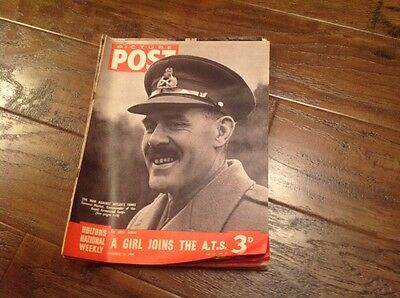 Picture Post Magazine - December 13th 1941 ATS