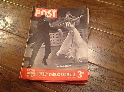 Picture Post Magazine - January 10th 1942 Betty Grable