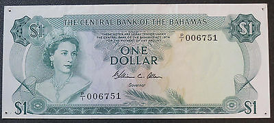 1974 Central Bank of the Bahamas $1 Note