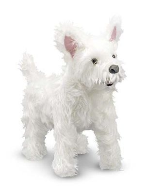 West Highland Terrier - Dog & Puppy Stuffed Animal by Melissa & Doug (4872)