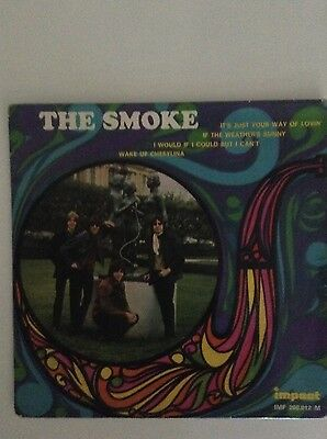 EP THE SMOKE - IF THE WEATHER IS SUNNY + 3. 60s UK, Pop psych, Mod, Freakbeat...