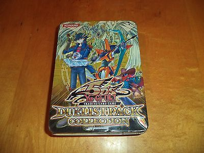 Yu-Gi-Oh! Empty 5D's 2010 Duelist Pack Collection Tin Box Yugioh