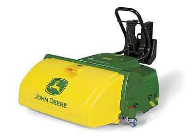 Brand New Kids Rolly John Deere Tractor Mounted Road Sweeper (FREE SHIPPING)